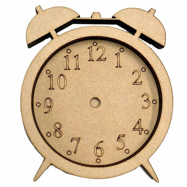 3D MDF Alarm Clock Pack